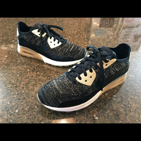 quality design 2be00 7745b Nike Air Max 90 Ultra 2.0 Flyknit Womens 9.5 gold