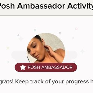 Other - I'm a posh ambassador and top 10% seller!!!