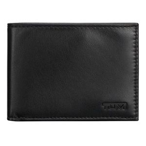 Tumi-Lock Shielded Leather Wallet 50% OFF OFFER