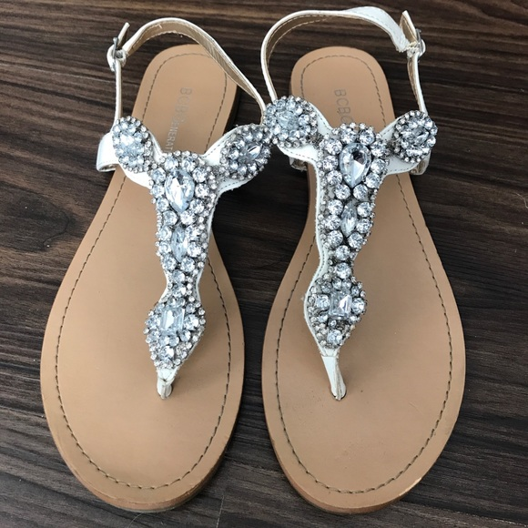 ab69c857a BCBG Shoes - BCBG rhinestone sandals