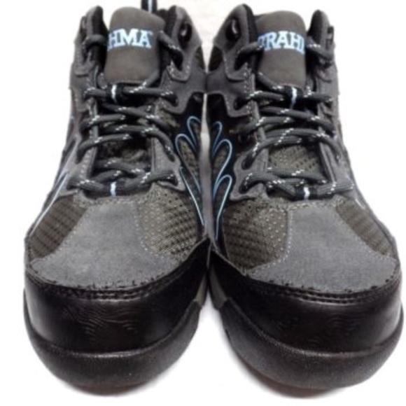 Brahma Karen Womens Leather Steel Toe Work Boots cf59206006