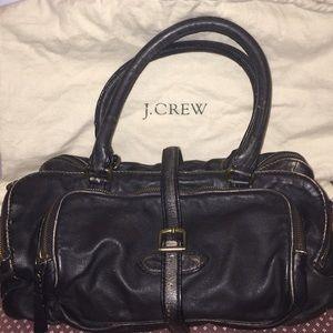J.Crew Collection Distressed Leather Handbag