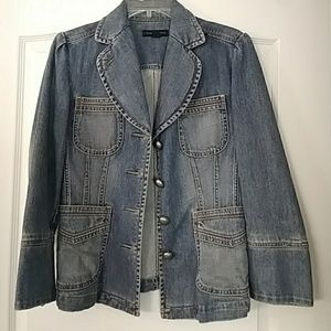 Banana Republic denim blazer