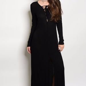c3e72c094e Annabelle Dresses - Last One Size Small Long Sleeve Comfy Maxi Dress