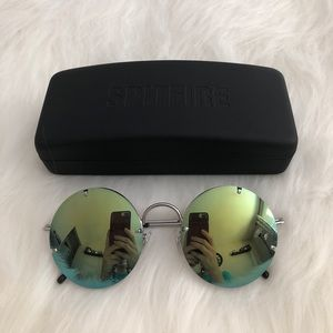 NWOT {spitfire} round sunglasses