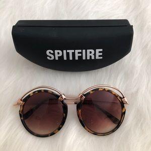 NWOT {spitfire} tortoise shell round sunglasses