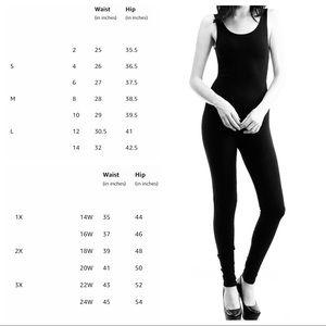 f67517ecfa Pants | Nwt Yoga Sleeveless Unitard Bodysuit Jumpsuit | Poshmark