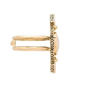 House Of Harlow House of Harlow Lady Of Grace Ring in Metallic Gold plf2tQG