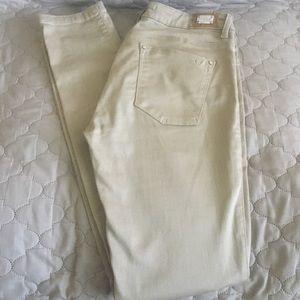 Zara 1975 Tan Skinny Jeans