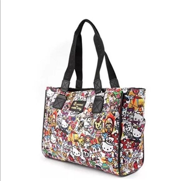 cd1bfe720e3 tokidoki Bags   X Sanrio Hello Kitty Tote Bag New   Poshmark