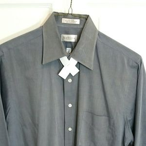 Van Heusen Gray men's long sleeves shirt