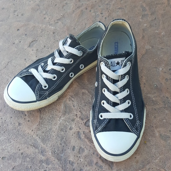 c17d0f4b8cb Converse Other - Converse All Star Black Sneakers Boys Girls 1