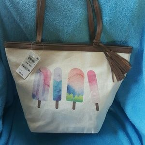 NWT Style & Co popsicle tote