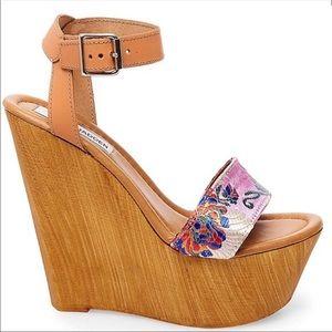 🆕 Steve Madden Bella Platform Wedge Sandal