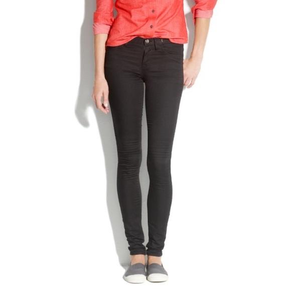 f8825304cd7f7 Madewell Denim - Madewell Legging Jeans in Classic Black