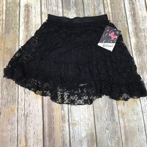 💖NWT💖D-Signed Black Skirt