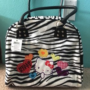 Hello Kitty Zebra tote