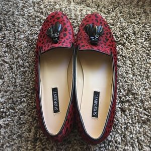 Shoemint Kathyy Flats with Coe Hair Upper
