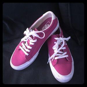 Vans original EUC bright fuchsia pink