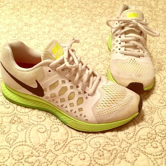 Lime Green Nike Tennis Shoes | Poshmark