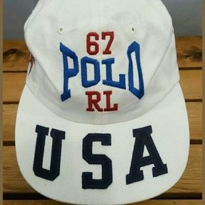 Polo sport usa vintage hat new with tags 92