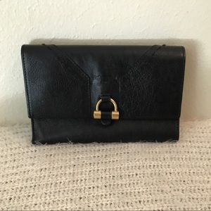 Authentic YSL trifold wallet