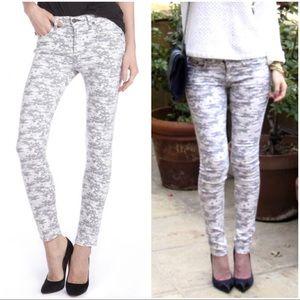 RAG & BONE Camo Skinny Jeans