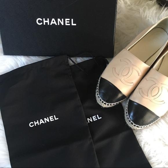 CHANEL Shoes | Chanel Espadrilles Cream