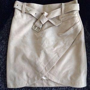 IRO Olsen suede mini skirt, size FR 38