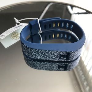 Tory Burch silicone Fitbit bracelet