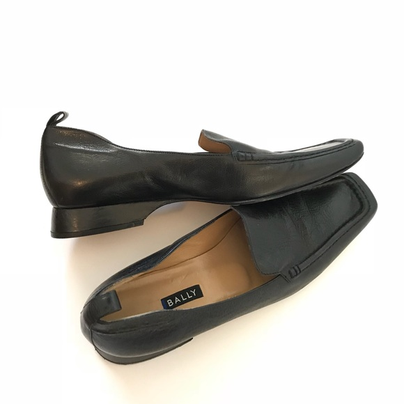 Loafers for Women On Sale, Black, Leather, 2017, 6.5 8.5 Bally