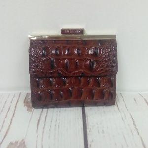 Brahmin Tasha Pecan Wallet