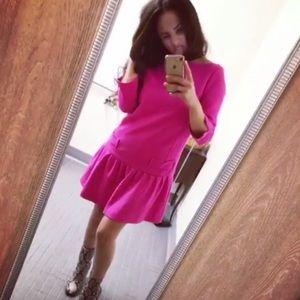 Victoria Beckham Fuscia dress