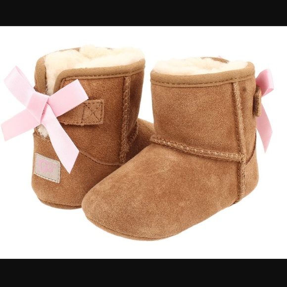 e453757c6cd 🎀Ugg Jessie Bow back Chestnut and pink size 2/3🎀 NWT