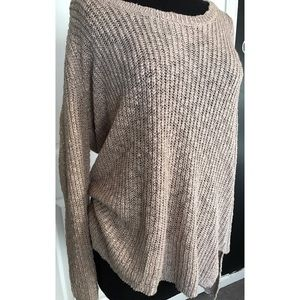 83bfeb0b6c0 Sweaters - NEW! Plus Size Slouchy Tan Sweater
