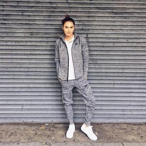 Nike Grey Tech Knit Joggers