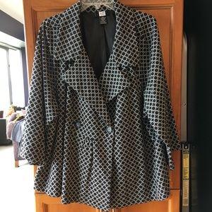 Studio 1940 Club Patterned Suit Jacket