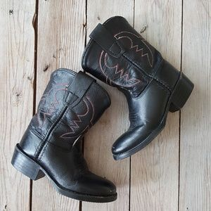 Old West Leather Cowboy Boots