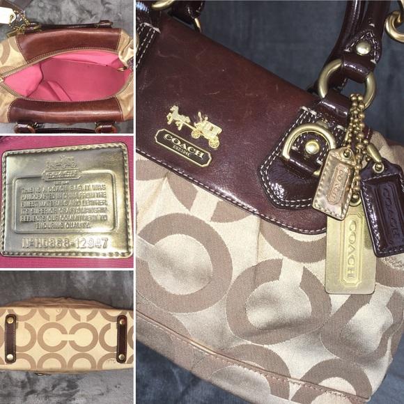011283084e Coach Bags | Sabrina Opart Authentic Satchel 12947 | Poshmark