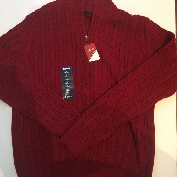 73% off Izod Other - Izod Men's Cable Knit Durham Sweater Size XL ...