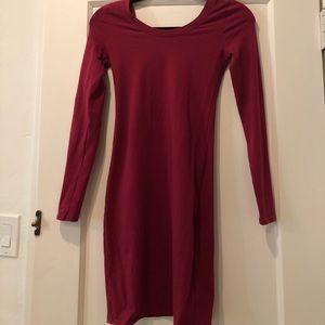LA made bodycon dress