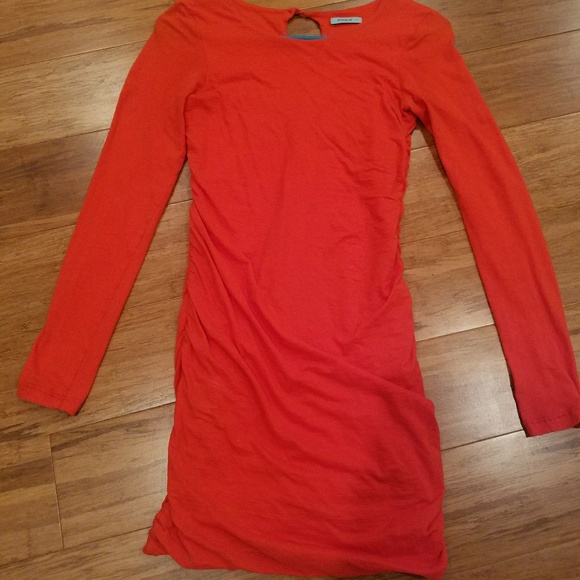 00f52bbf34 kookai Dresses   Skirts - Red long sleeve kookai dress