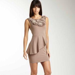 Cute Rosette neckline dress!