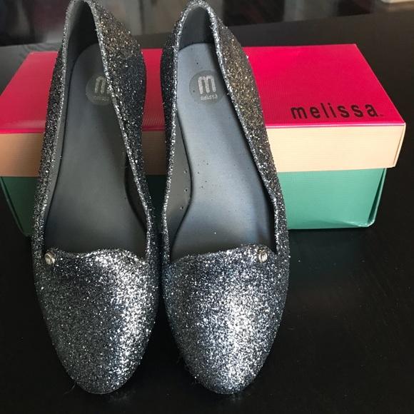 0c964438c69 Melissa virtue special glitter flats - New