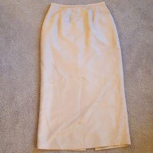 Talbots Tan Skirt