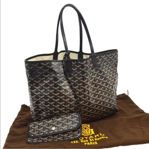 Goyard Saint Louis PM Tote with Pouch and Duster