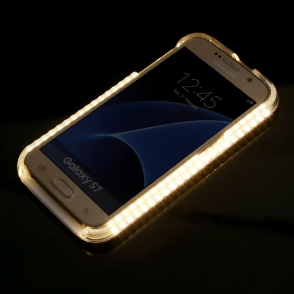 quality design 420d7 8c59a Lumee Galaxy S7 LED Perfect Light Cell Phone Case