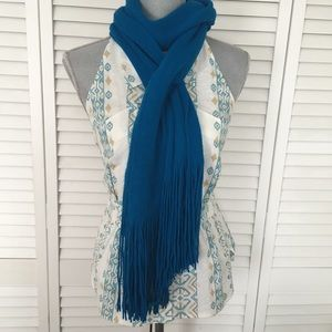Accessories - Electric Blue Scarf