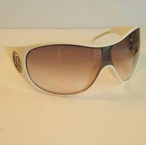 Nice white Giorgio Armani sunglasses.