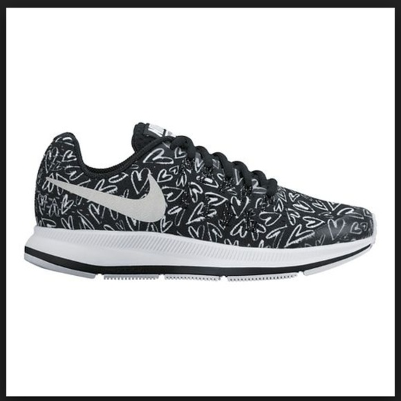 6a030fc6450f Nike Shoes   Kids Zoom Pegasus Black Heart Sneakers   Poshmark